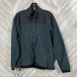 REI men's fleece zip up jacket